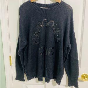 Wildfox Hangover Chic Oversized Sweater S